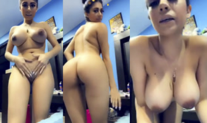 Mexicana se desnuda para pagar una apuesta